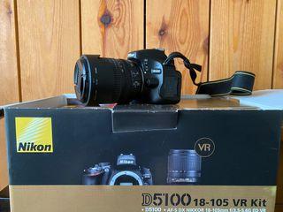 Nikon D5100 + objetivo AF-S DX NIKKOR 18-105 VR Ki