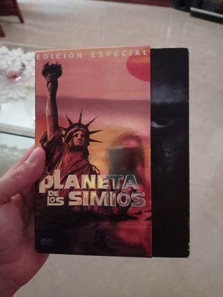 películas edición especial planeta de los simios