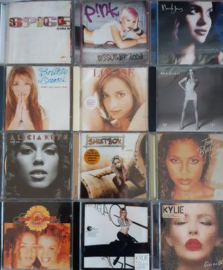 CD pop R&B soul funk lote 7