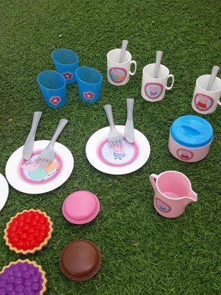 peppa pig picnic
