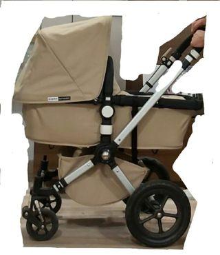 carrito bebé Bugaboo Cameleon color beig