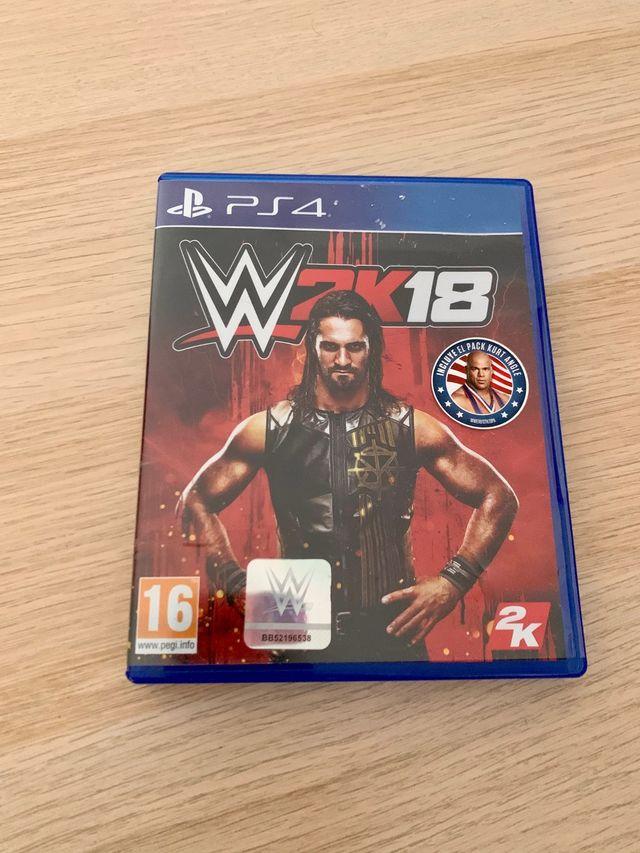 WWE '18 para PS4