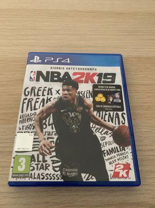 NBA 2K19 para PS4 como nuevo