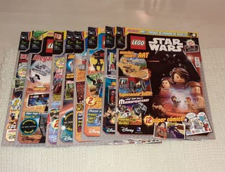 Lote 10 revistas Lego Star Wars