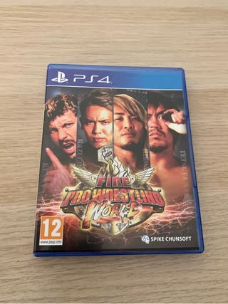 Fire Pro Wrestling World para PS4