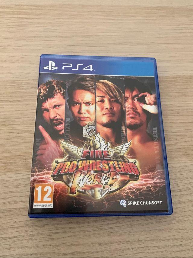 Fire Pro Wrestling World para PS4