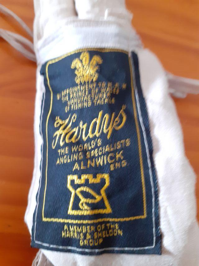 caña de rio Hardy smugler de luxe 9,5´´