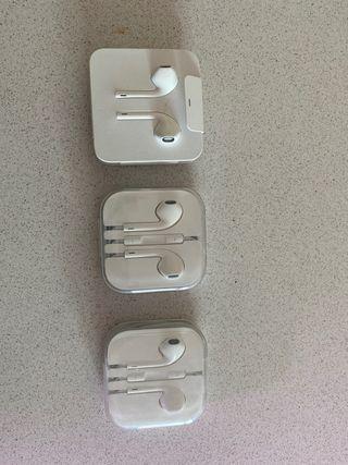 Auriculares iPhone originales