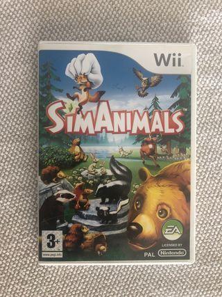 Juego Wii (Sim Animals)