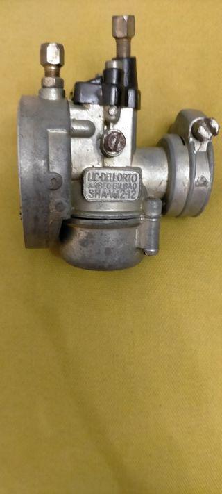 Carburador vespino 12-12 en funcionamiento