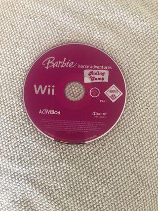 Juego Wii (Barbie horse adventures)