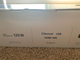 Barra de sonido Sony HT-SF150. 120w. 2 canales.
