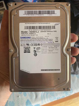 Disco duro interno 500 GB