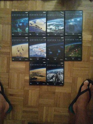 colección DVD Planeta Tierra (BBC)