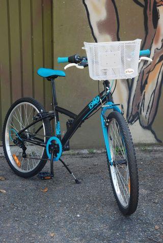 bicicleta decathlon btwin de montaña