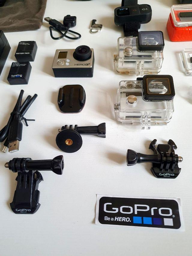 GoPro® HERO3+ Black Edition 4K + Accesorios