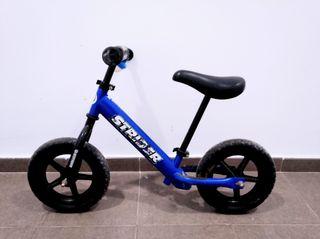 Bici Strider sin pedales