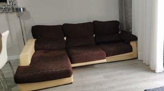 sofa cheslong ( salón comedor )