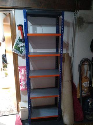 Se vende estanteria tipo mecano