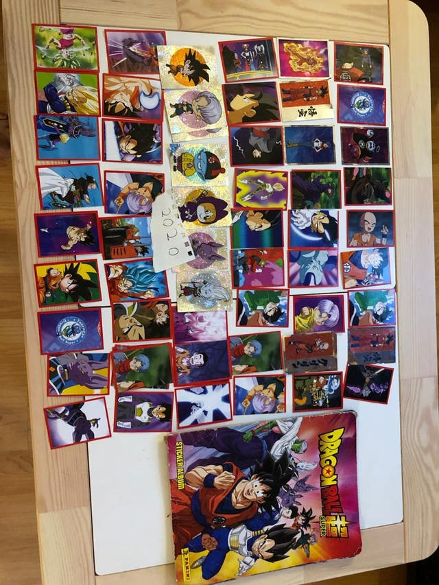 Cromos Bola de Drac./Dragon Ball 2020