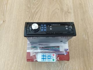RADIO PARA COCHE CON BLUETOOTH PENDRIVE USB TARG