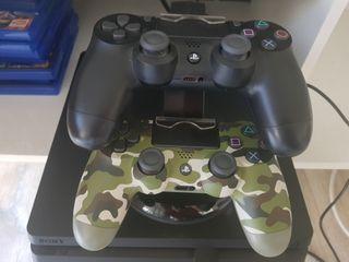 PS4 1TB+2 mandos+Playseat A1GP +12 juegos