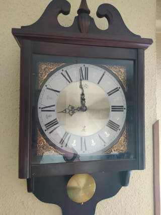 Reloj de pared antiguo(antes del 1980)