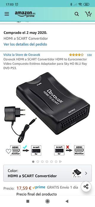 HDMI a SCART Convertidor HDMI a Euroconector