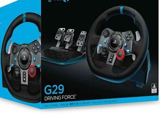 Playseat y simulador logitech g29 para ps4