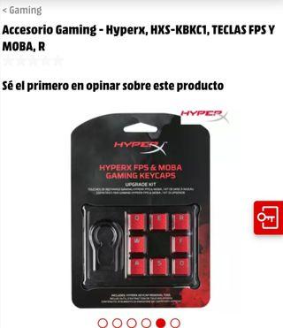 Accesorio Gaming - Hyperx, HXS-KBKC1, TECLAS FPS Y