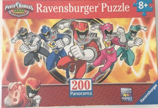 Puzzle Spiderman y Power Rangers