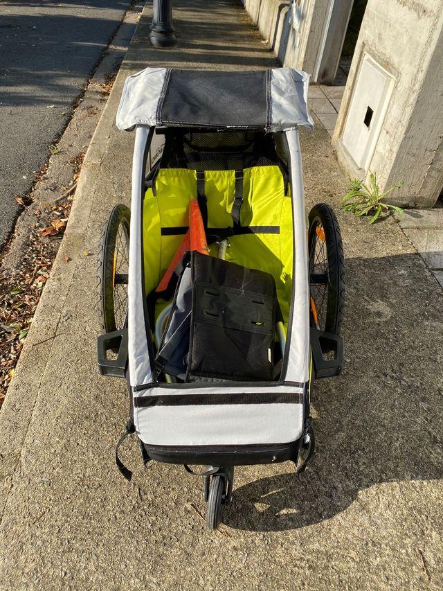 Remolque de niños para bicicleta XLC MONO2