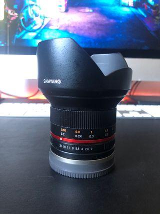 Objetivo Samyang para Sony E 12mm f2/22