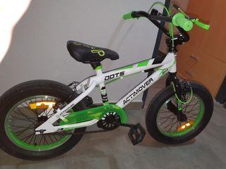 Bicicleta BMX 16 pulgadas