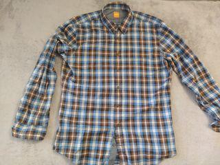 Camisa de cuadros Hugo Boss