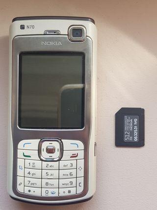Nokia N70 como nuevo más tarjeta