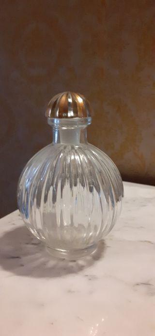 Botella cristal redonda