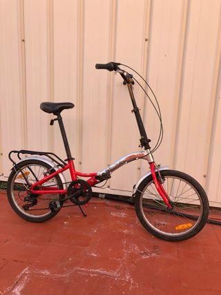 Bicicleta Plegable Monty.