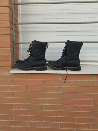 botas tipo militar