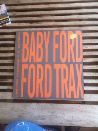 Vinilo. Baby Ford Ford Trax