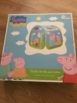 Casita Peppa Pig tela desmontable