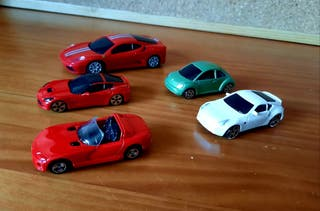 pack lote coches y Ferrari self