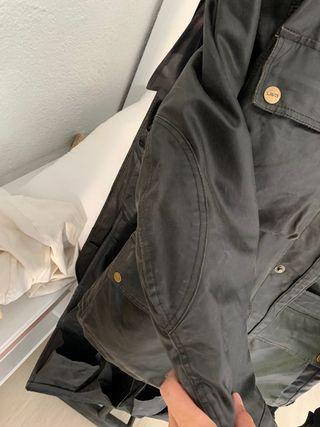 Chaqueta moto impermeable con protecciones y forro