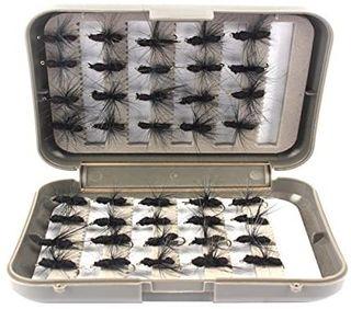 Moscas para Pesca con Mosca, Kit de 40 cebos