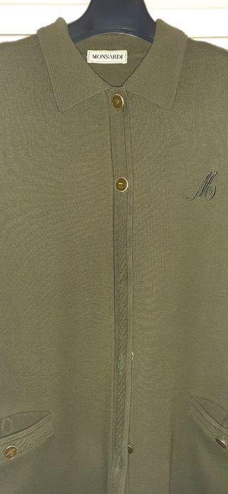 Chaqueta verde Talla grande
