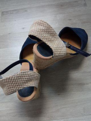 Calzado alpargatas cuña