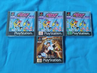 Pack juegos PS1 - las super nenas y barbie