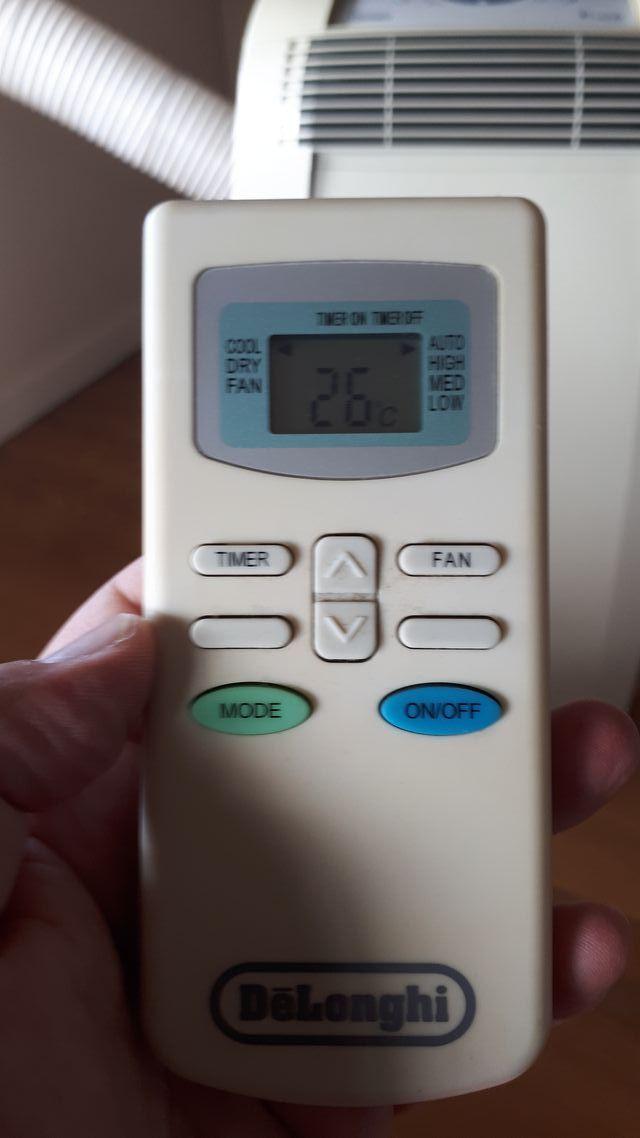 Aire acondicionado, deshumificador Delonghi