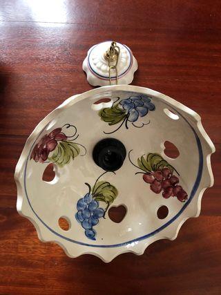 Lampara colgante ceramica