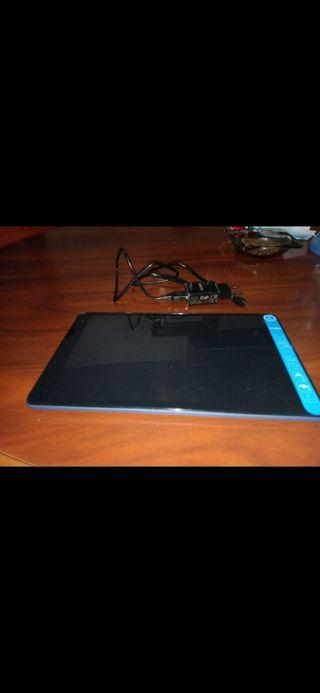vendo tablet sin uso con su plástico de pantalla